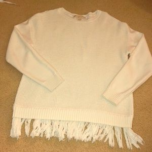 Michael kors knit sweatshirt